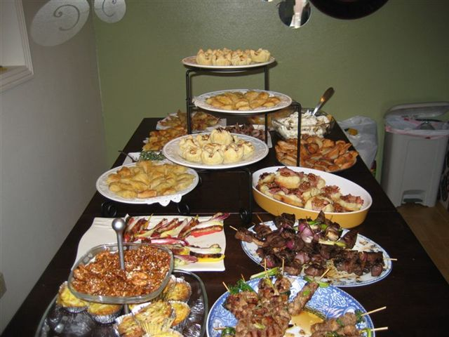 baby shower table snacks table foods for baby table setting with food
